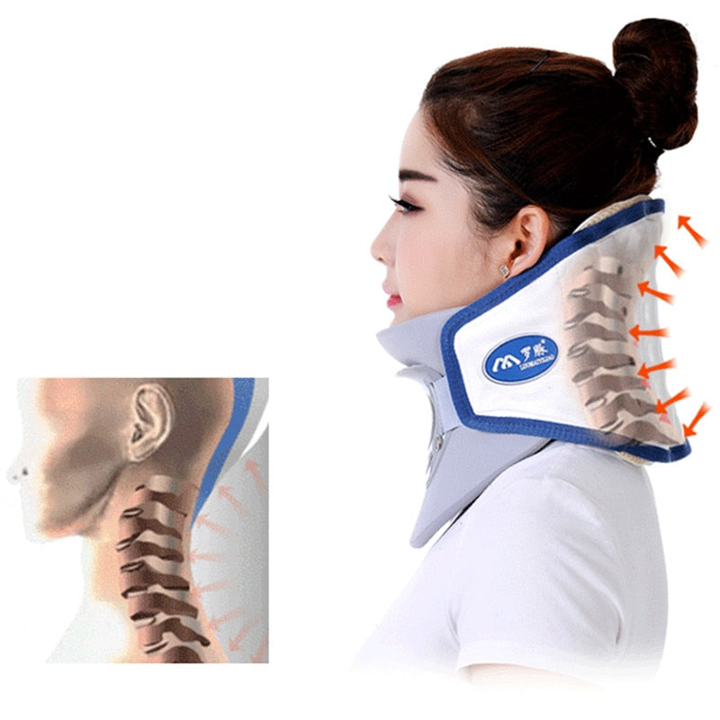 neck cervical traction massage device - sportinglifes