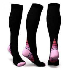 Men Professional Compression Socks Breathable Travel Activities