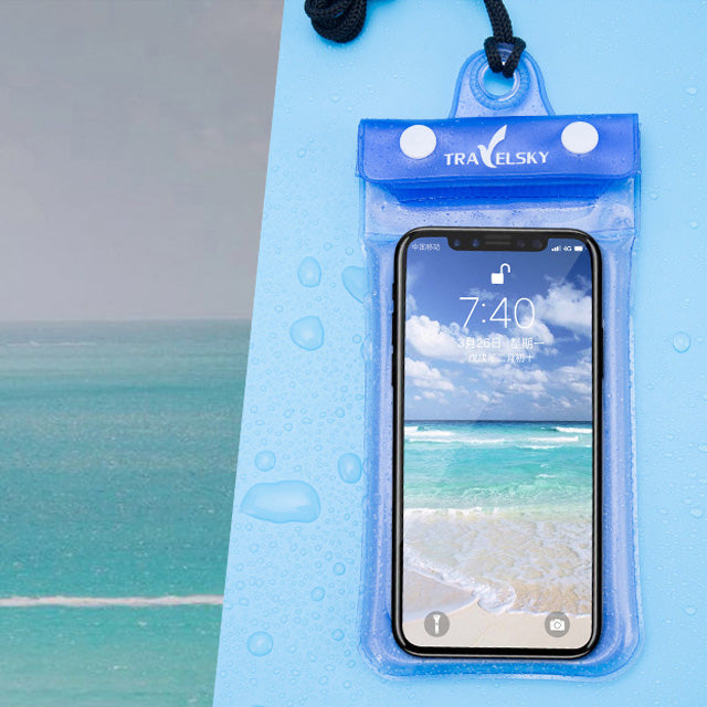 6.2 Inch Float Airbag Waterproof Swimming Bag Mobile Phone Case Cover Dry Pouch - yingdanli.1