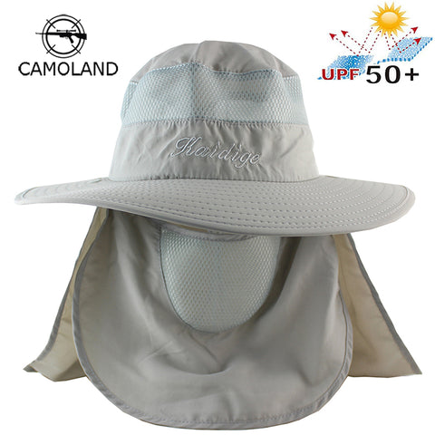 Sun UV Protection Face Mask Wide Brim Hiking Sun Hat - sportinglifes