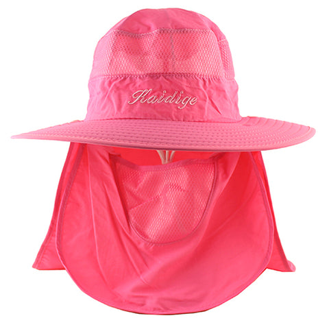 Sun UV Protection Face Mask Wide Brim Hiking Sun Hat - yingdanli.1