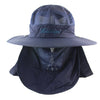 Image of Sun UV Protection Face Mask Wide Brim Hiking Sun Hat - yingdanli.1