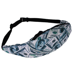 New Colorful Waist Bag For Men Fanny Packs