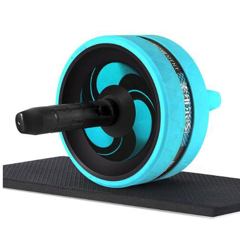 Ab Roller with Mat For Arm Waist Leg Exercise Gym Fitness Equipment - sportinglifes