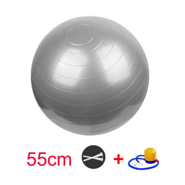 Extra Thick Yoga Ball Chair with Quick Pump - yingdanli.1