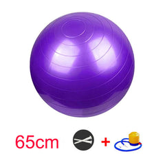 Extra Thick Yoga Ball Chair with Quick Pump