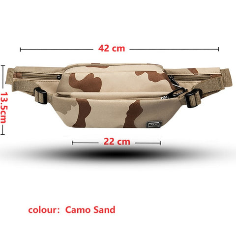 Men fashion waist pack - yingdanli.1