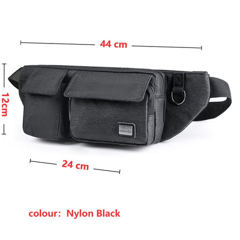 Men fashion waist pack - sportinglifes