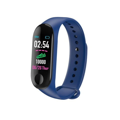 Bluetooth Smart Bracelet MaleDigital  Sport Wristband with Heart rate Blood Pressure Pedometer - sportinglifes