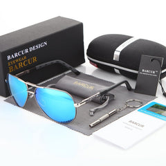 Aluminum Magnesium Men's Sunglasses with Polarized Coating