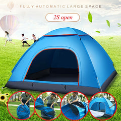 2-3 Person Portable Outdoor Foldable  Anti UV Sun Shade Tent - yingdanli.1
