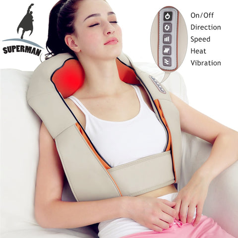 Electrical shiatsu neck massage - sportinglifes