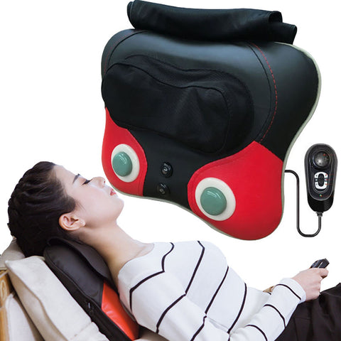 Back waist Pillow Electric Shiatsu Cervical Massager - sportinglifes