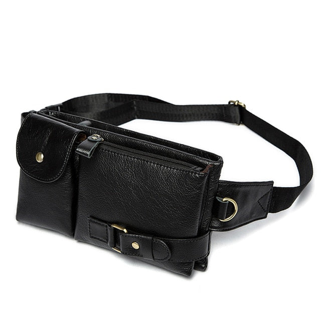 Genuine Leather Waist Packs - yingdanli.1