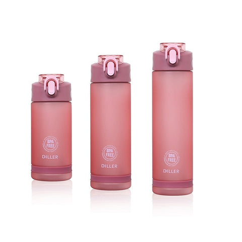 Sports Water Bottle With Straw - yingdanli.1