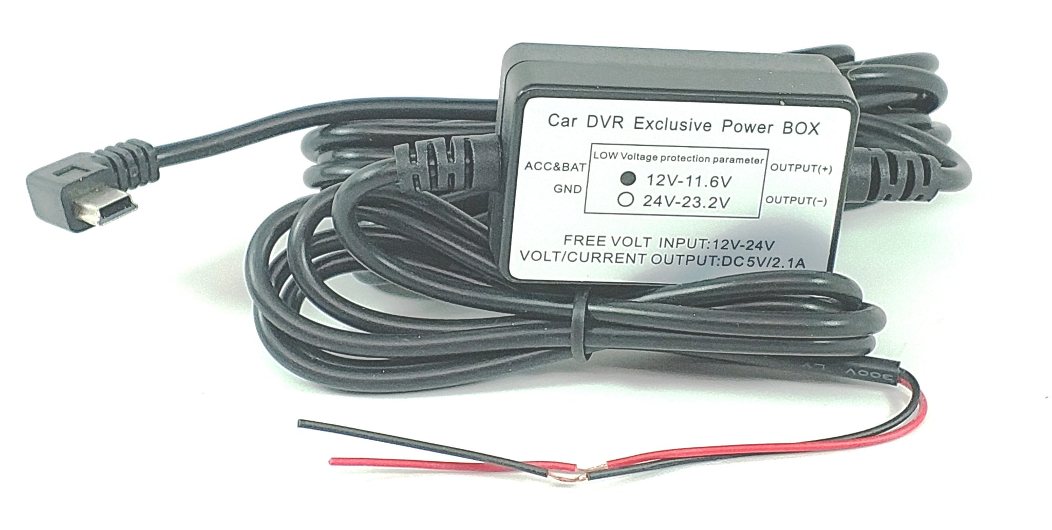 12 Volt Hard Wire Power Cable for Dash Cams! Replaces Cig Lighter Charger! Installs in Minutes!