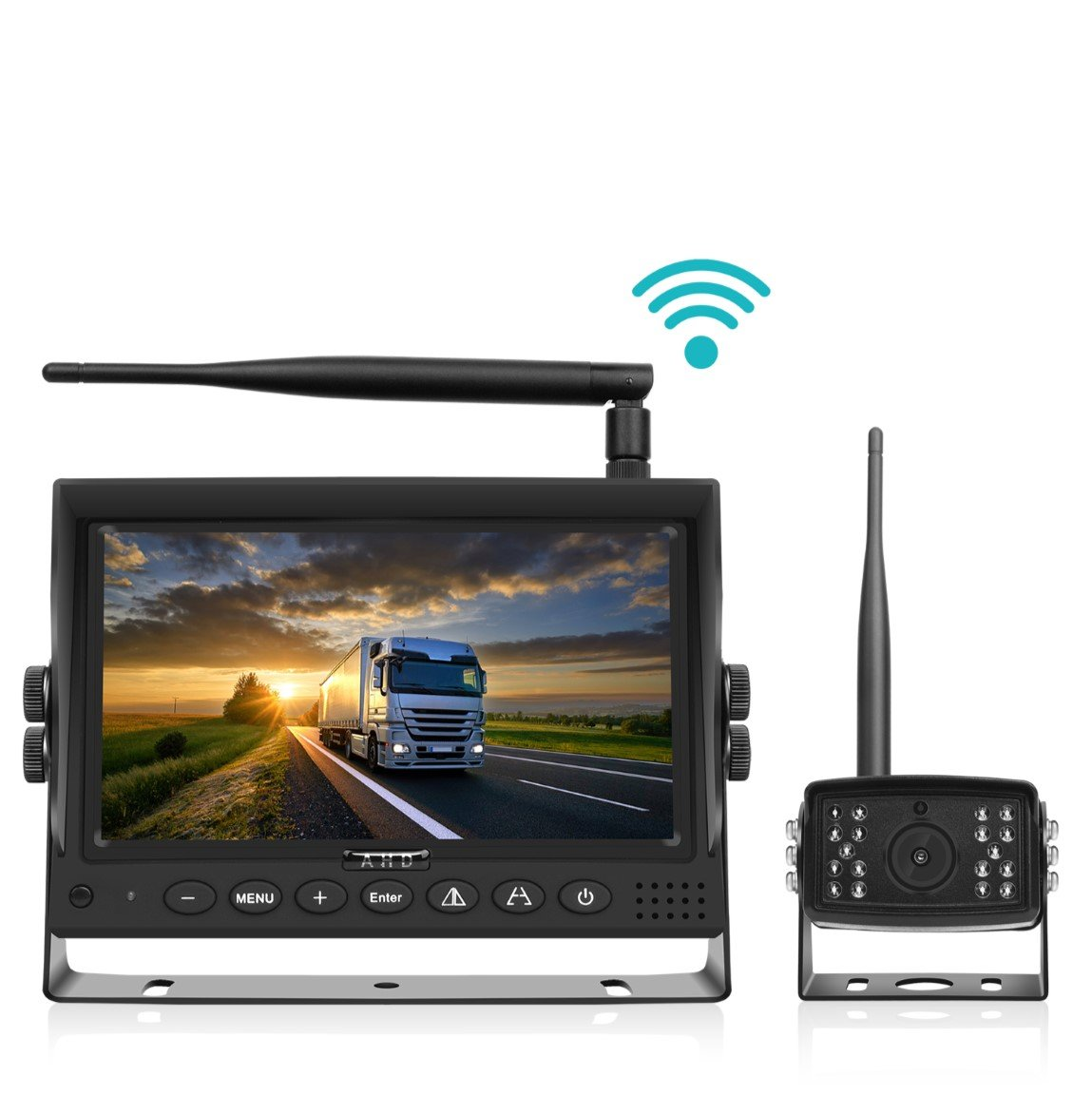 "Digital Wireless Backup Camera Heavy Duty with 7"" LCD & 150' Wireless Range"