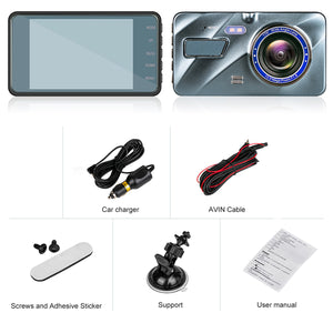 EagleEye 1080P Dash Cam - Single Forward Cam
