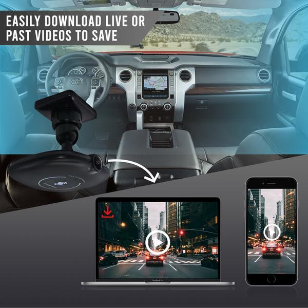 4G Dual Camera System with Live Streaming, WiFi, GPS & 1080P Cams
