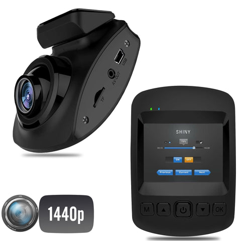 1440P DVR Dash Cam Single Camera System