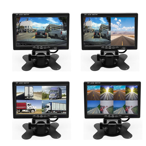 Upgrade to 9 inch LCD Monitor for MDVR and 4G MNVR System