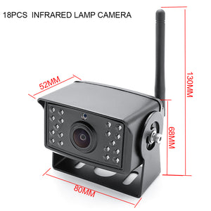 Digital Wireless HD Camera for 2-4 Cam Wireless DVR System (w/ 18 IR lights)