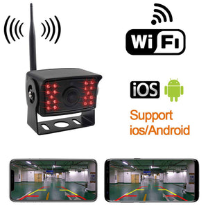 Heavy Duty Commercial WIFI Backup Camera System