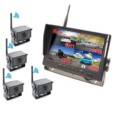 2nd Gen Digital Wireless 4 Channel Multi-Cam System. 2-4 960P Cams, Heavy Duty, 200' Wireless Range