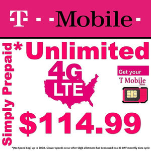 Unlimited T-Mobile 114