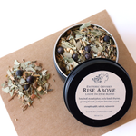 Rise Above Loose Incense Blend 1oz ~ Black Screw Top Tin