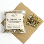Sacred Seven Loose Incense Blend ~ 1/2 oz. ~ Biodegradable Packaging