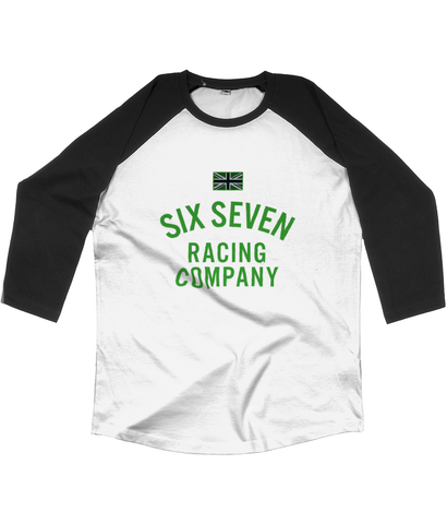 Unisex 'Racing Co' Baseball T-shirt