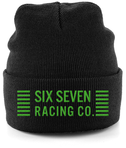 Cuffed 'Racing Co' Beanie