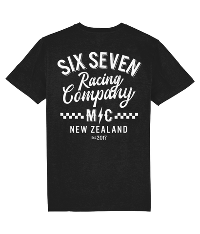 UNISEX 'SIX SEVEN M/C NEW ZEALAND' T SHIRT