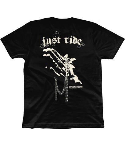 Unisex 'Just Ride' T Shirt