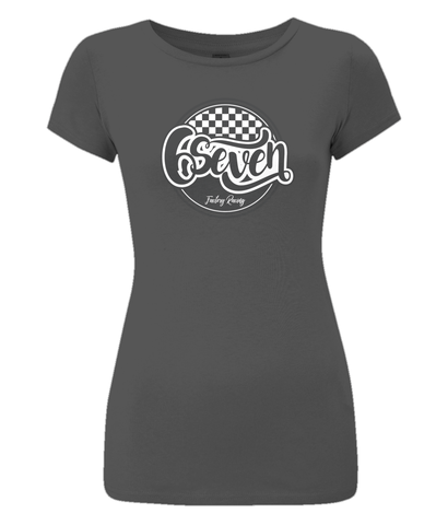 Women's 'Retro' Slim-Fit T-Shirt