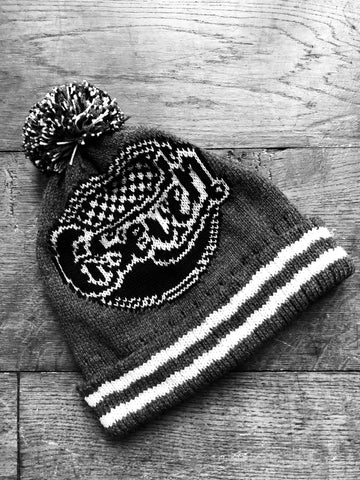 'Retro' Factory Racing Bobble Hat
