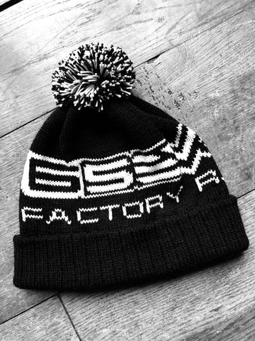 'Classic' Factory Racing Bobble Hat