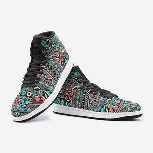 Tribal Boho Sneaker, Tribal Pattern - BIZARRE FASHIONS