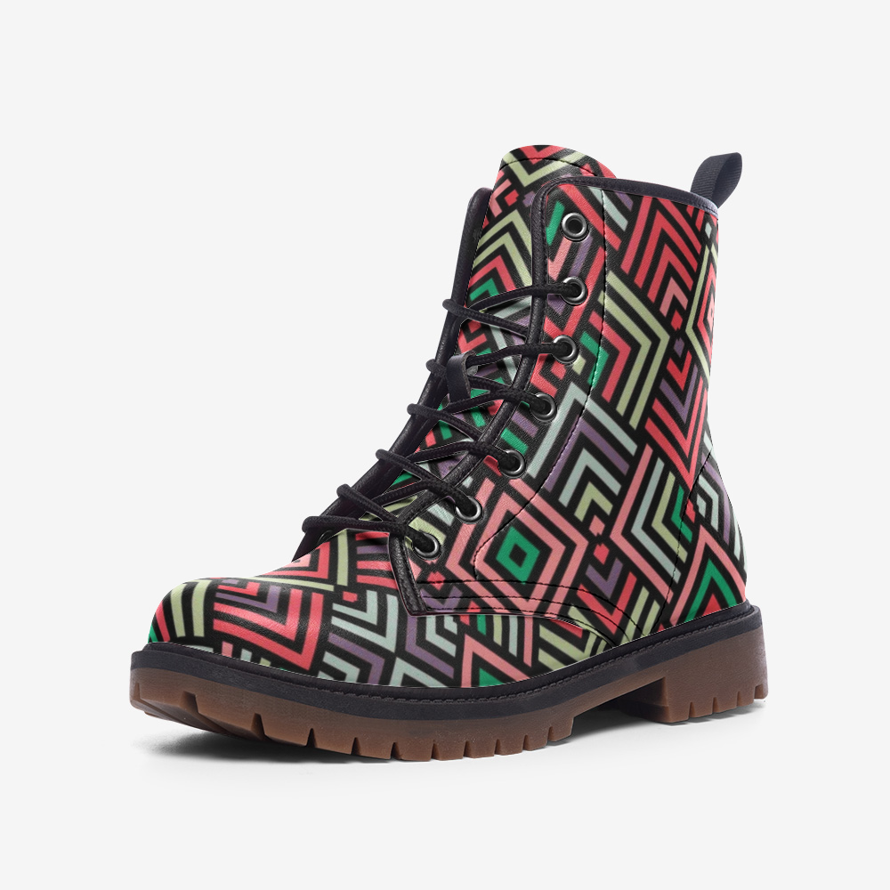 Casual Colorful Boots - BIZARRE FASHIONS