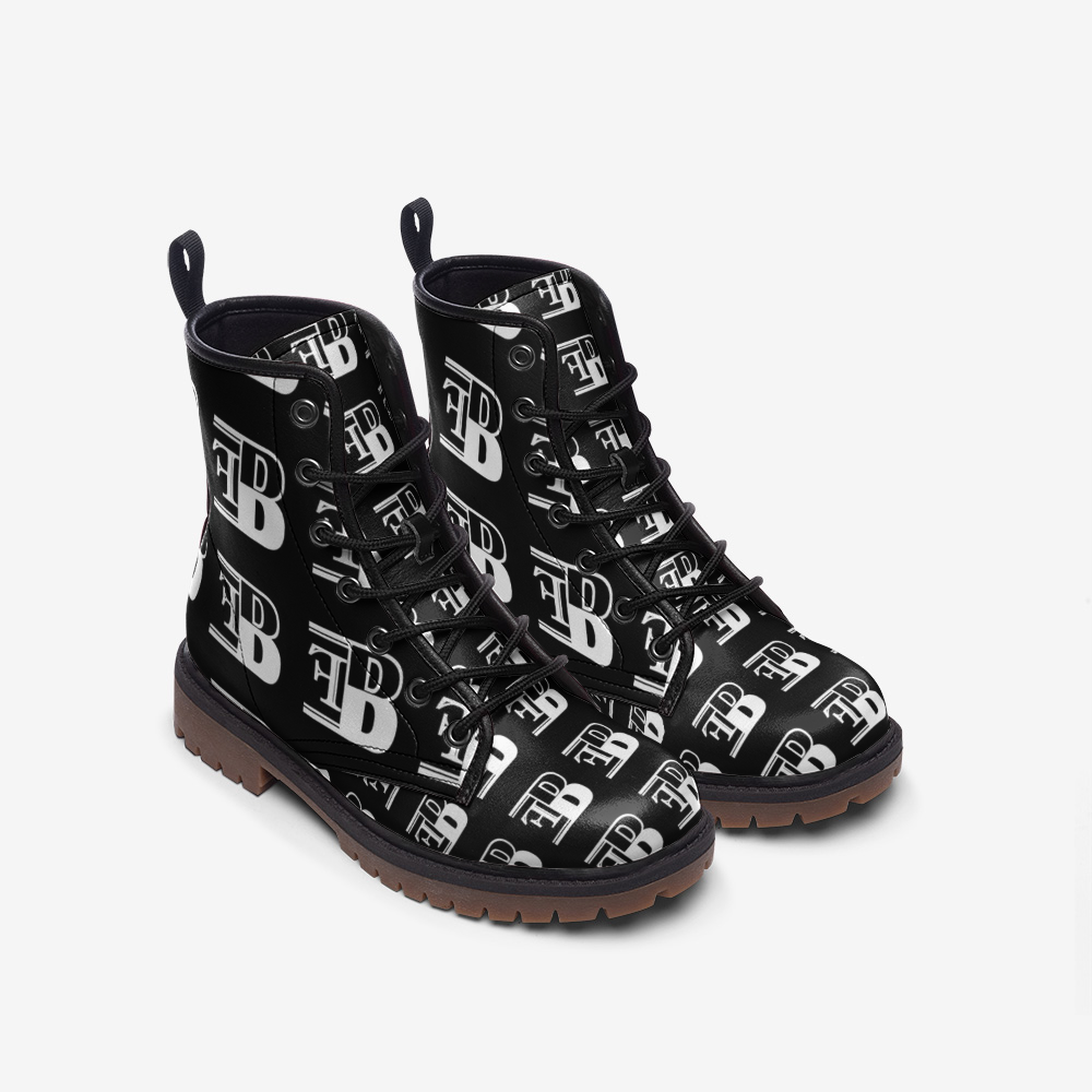 Bizarre Fashions Casual Leather boots - BIZARRE FASHIONS