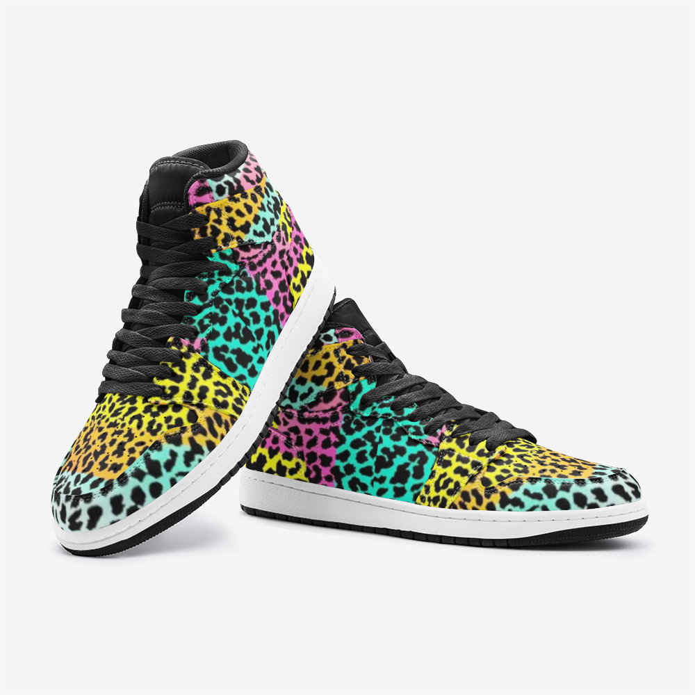 Multi-color Panther Unisex Sneaker - BIZARRE FASHIONS