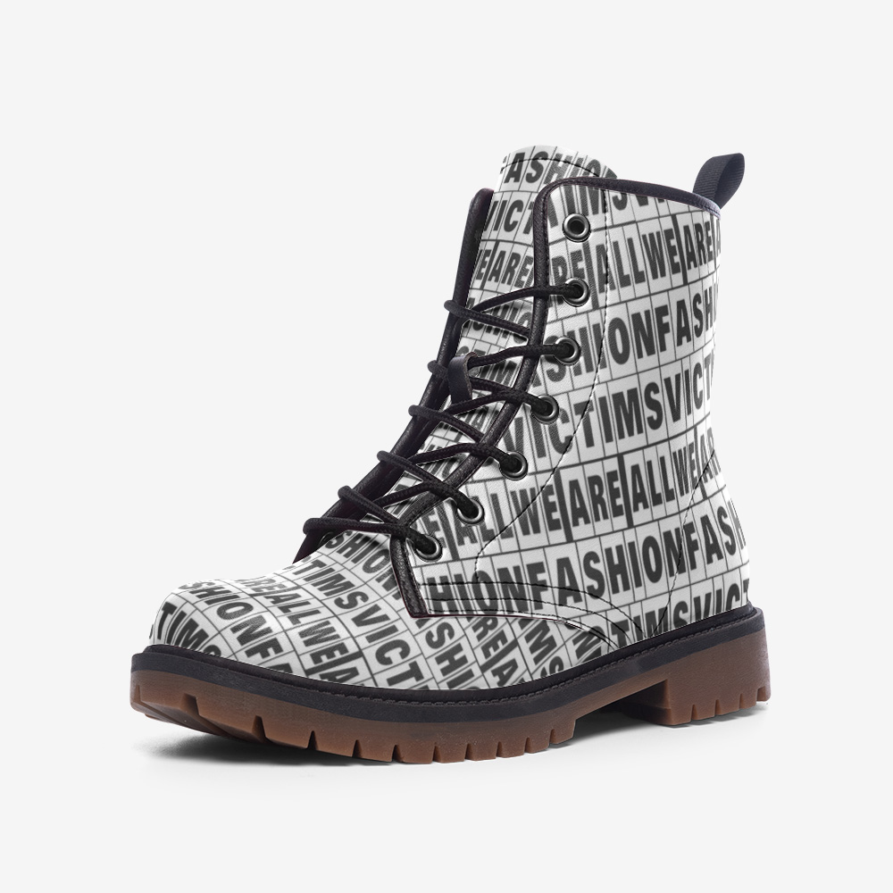 We are All fashion victims boots - BIZARRE FASHIONS