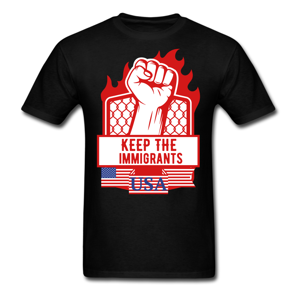 keep the immigrants shirt, - BIZARRE FASHIONS