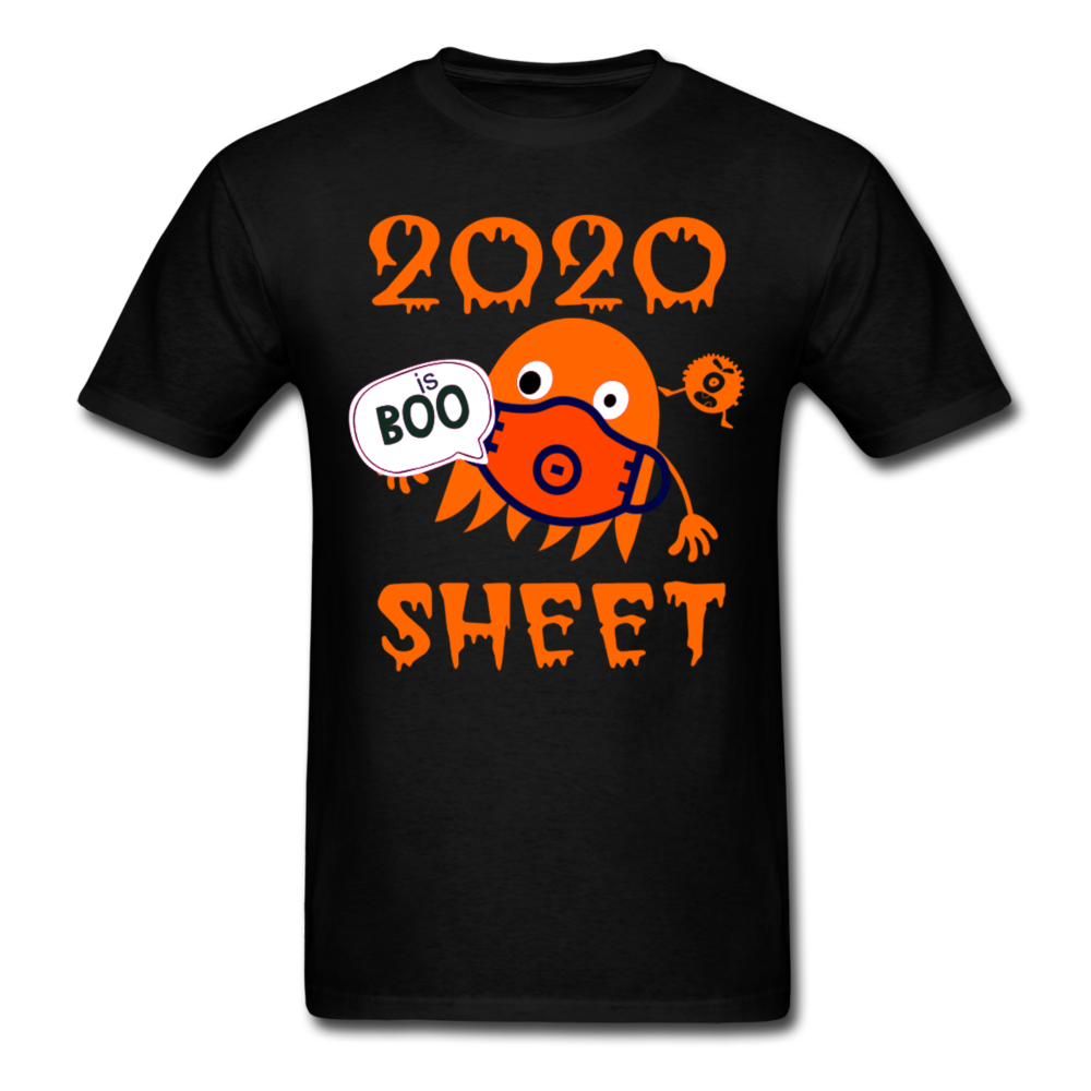 2020 is boo sheet shirt, ghost in mask Unisex T-Shirt - BIZARRE FASHIONS