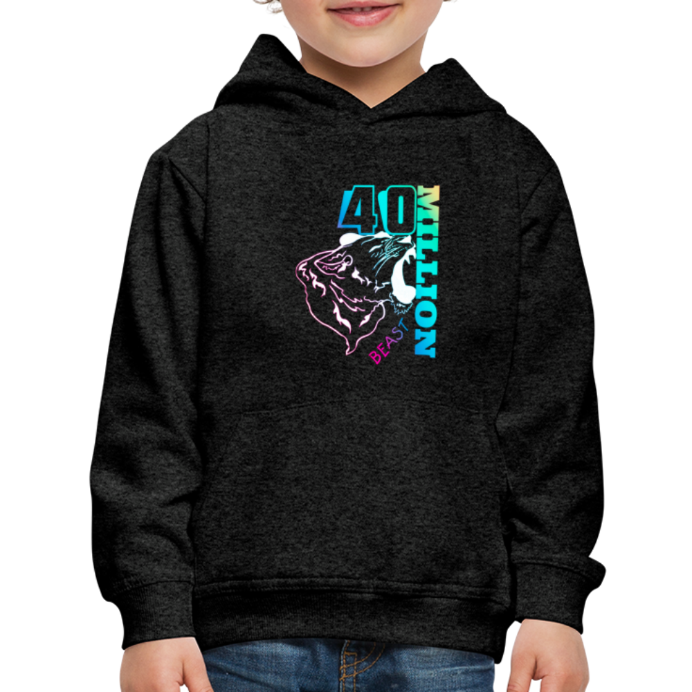 mrbeast 40 million shirt, mrbeast signed Kids' Hoodie - BIZARRE FASHIONS