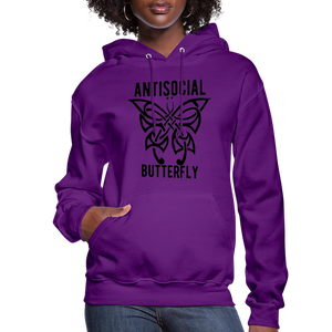 Antisocial Butterfly Hoodie - BIZARRE FASHIONS