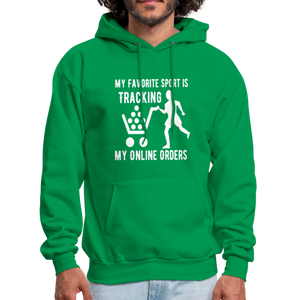 My Favorite Sport is Tracking My Online Orders Funny Shopper Hoodie - BIZARRE FASHIONS