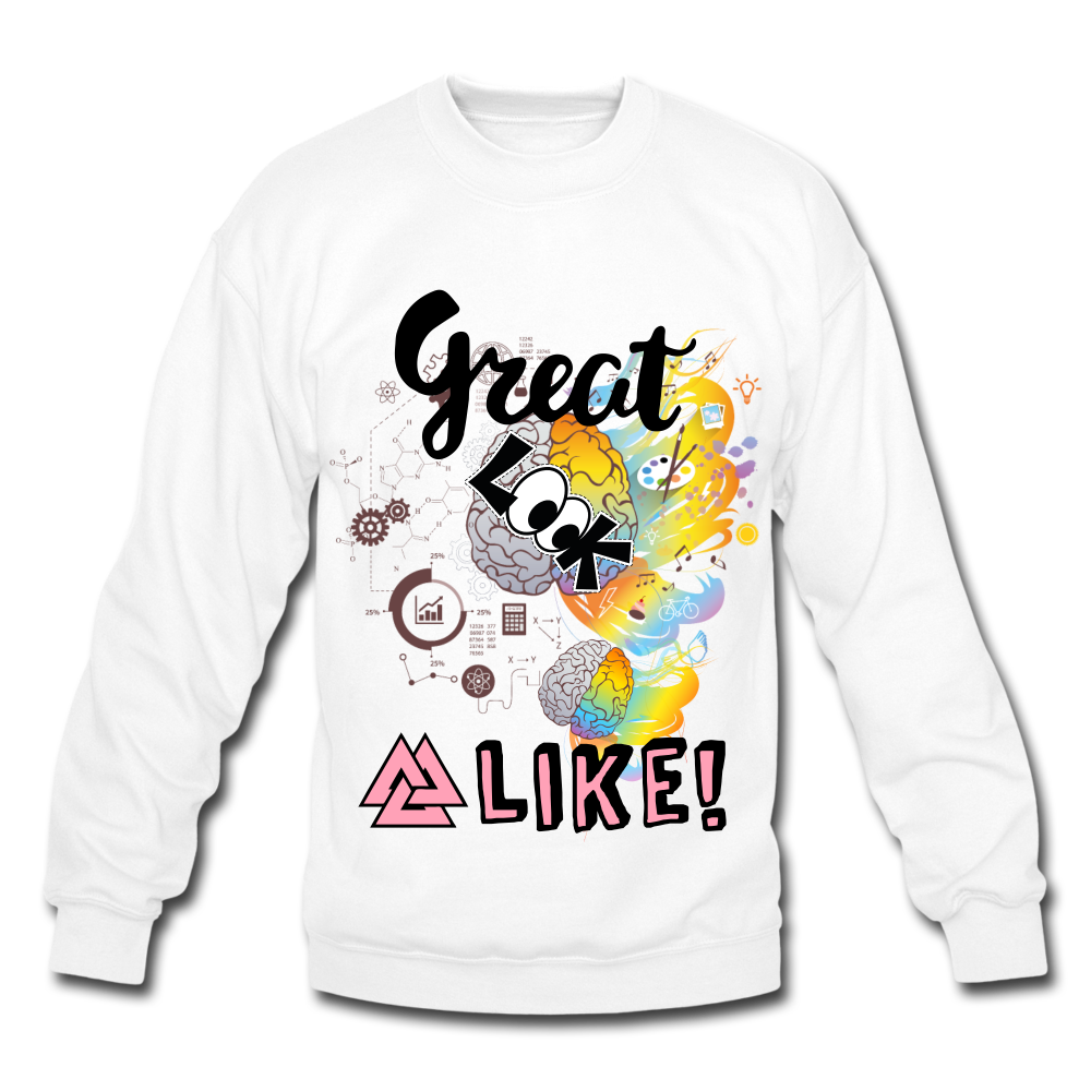 Great minds look alike Sweatshirt - BIZARRE FASHIONS