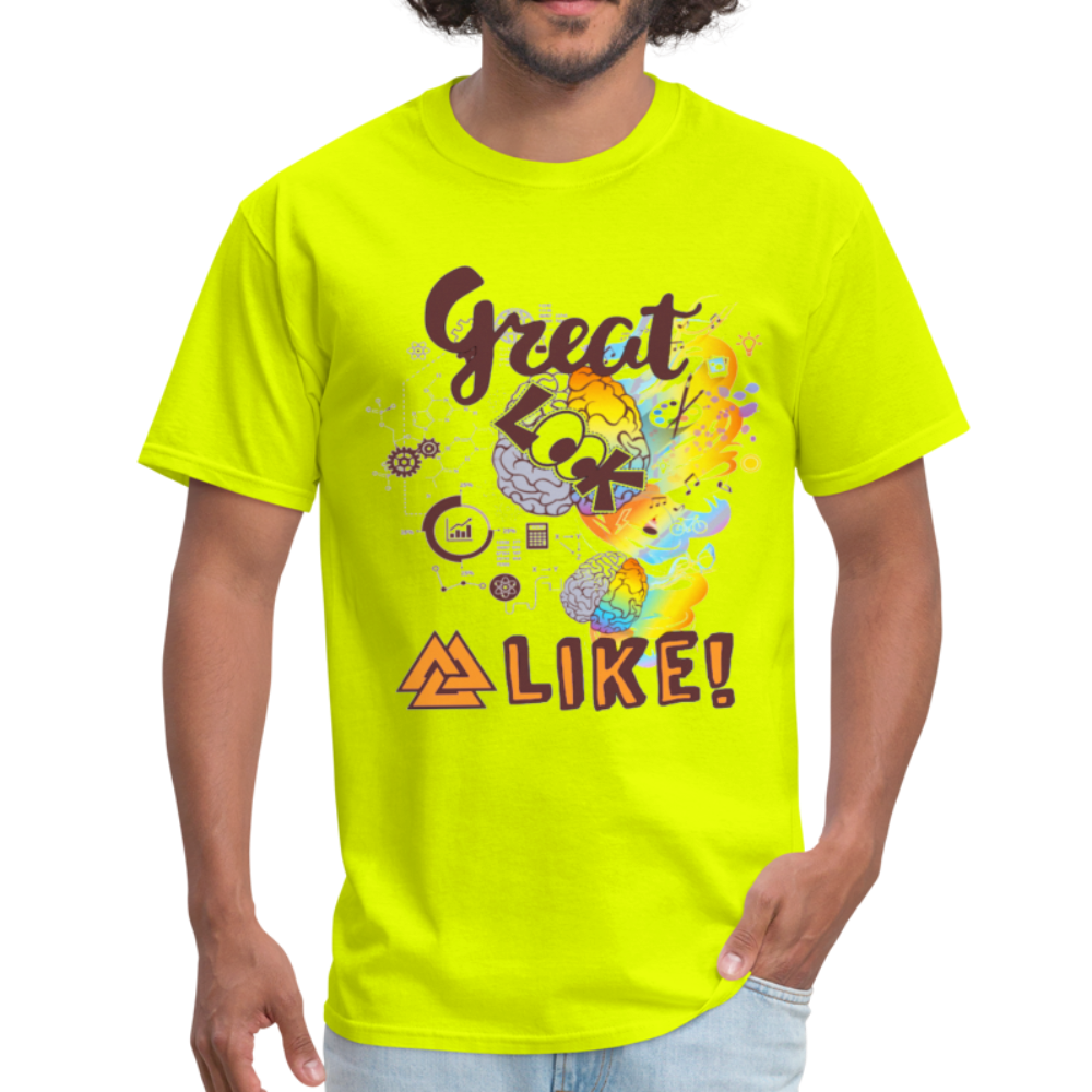 Great minds look alike T-Shirt - BIZARRE FASHIONS